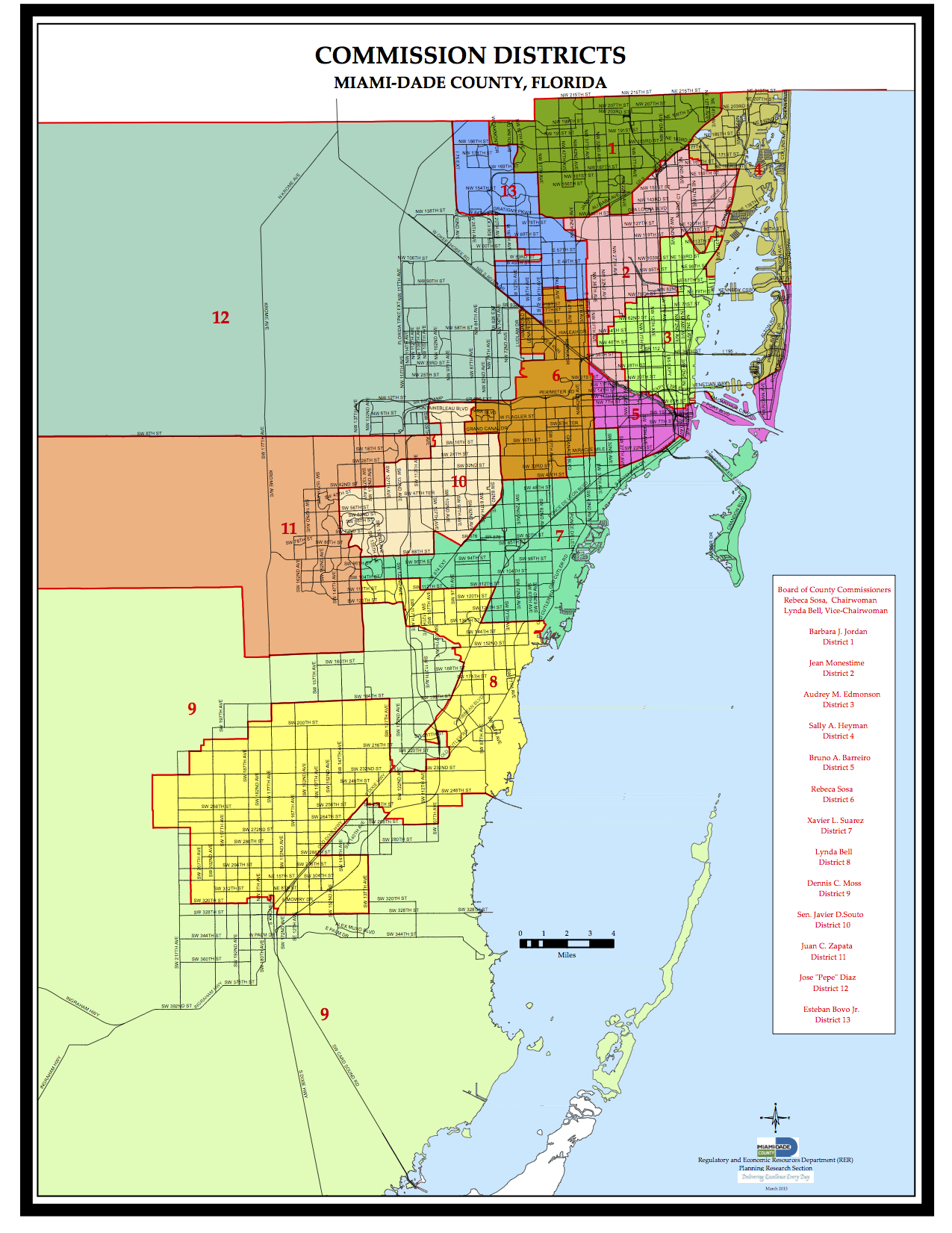 miami dade flood zone map Map Of Miami Dade County Cities miami dade flood zone map