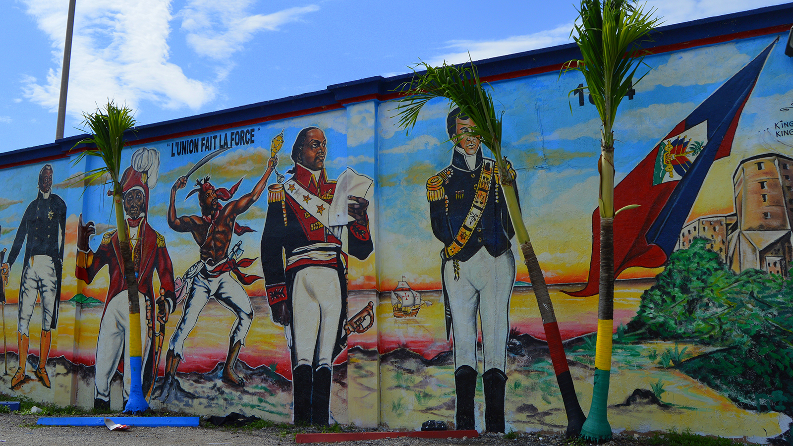 Big history of little haiti the new tropic for Mural history